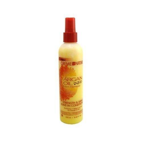Creme of Nature Acondicionador de aceite de argán sin dejar en 250 ml...