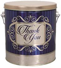 MarketSquare Popcorn 1 Gallon Gourmet Popcorn in Thank You Tin - Choose from 15 Flavors - Great Gift (Butter Caramel Crunch)