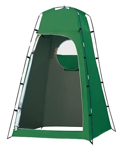 WSMM Tienda de CampañA para BañO al Aire Libre Ducha Impermeable Camping InstantáNeas PortáTil para Privacidad al Aire Libre Plegable Duradera Estable,Armygreen