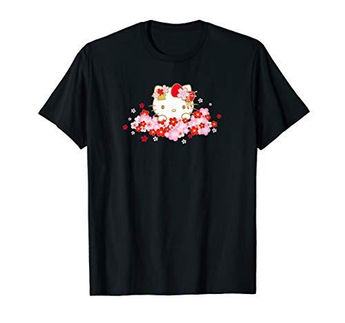 Hello Kitty Kirschblüte Frühling Sakura T-Shirt
