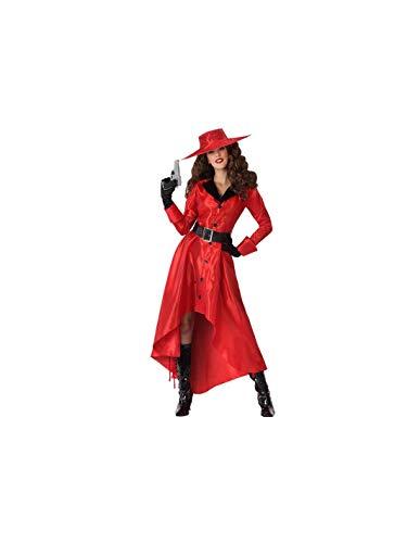 DISBACANAL Disfraz Carmen Sandiego para Mujer - -, M-L
