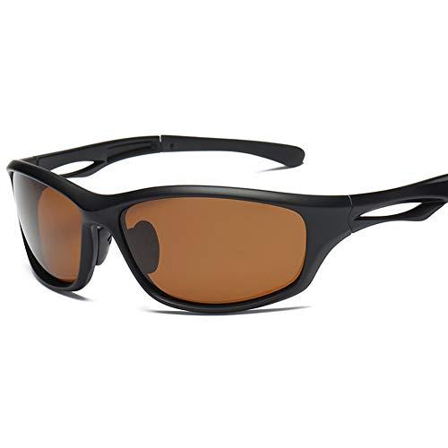 Liangzai Gafas de Sol polarizadas, Gafas de Montar para Hombres y Mujeres, Anti-Ultravioleta, Resistentes al Desgaste y cómodas de Llevar, utilizadas para Deportes de conducción y Pesca