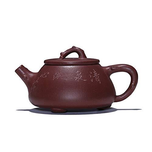 QinMei Zhou Ore - Cuchara de tetera de color morado