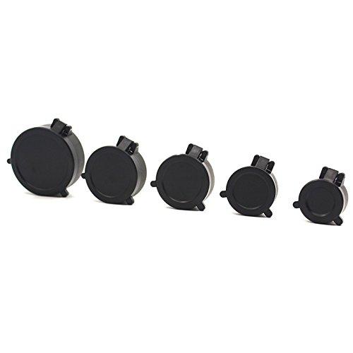 ACHICOO 30mm-57mm Objektiv Defender Flip Cap Abdeckung Okular staubdicht Zielfernrohr Flip Schutzkappe Jagd Zubehör