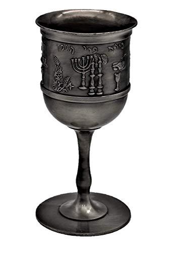 Body-Soul-n-Spirit Shabbat Tisch Urlaub Jüdisches Festmahl Weintraube Kidduschbecher Becher Judaica