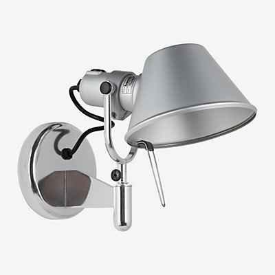 Artemide Tolomeo Faretto LED mit Schalter, Aluminium poliert & eloxiert, 2.700 K