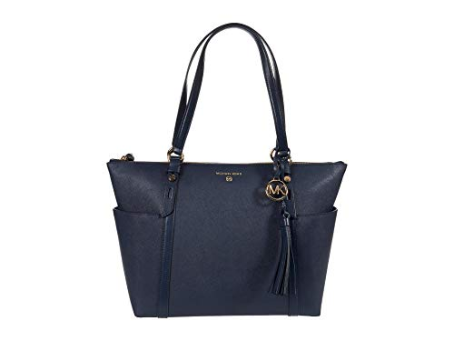 MICHAEL Michael Kors Nomad Large Top Zip Tote Navy One Size