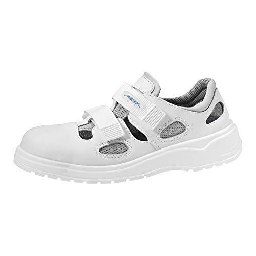 Abeba Sandale 711031-40 - x-Light, Glattleder, Weiß, zertifiziert, Größe 40