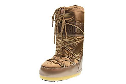 Moon Boot Glance, Boots femme - Platine (Platino), 35-38 EU