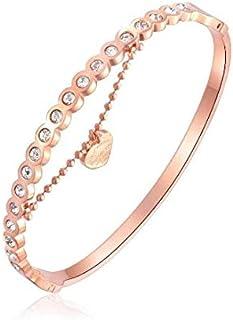 Europe Style 18K Gold Plating Bracelet Fashion Women Rhinestone Bracelet