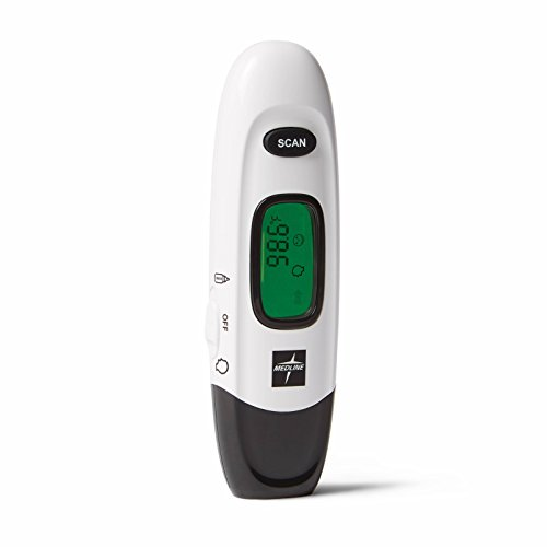 Medline - MDSNOTOUCH No Touch Infrared Forehead Thermometer