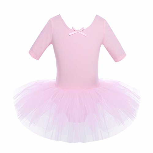 Ruiuzi Baby Girls Rainbow Tutu Skirt 3-Layer Tulle Princess Ballet Dress for Party Halloween Party Dress Up Costume