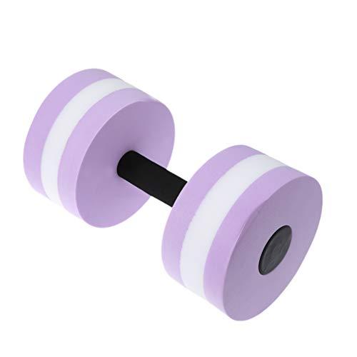 Clispeed Wasserhanteln für Schwimmbad, Fitness, Aerobic-Training, Poolübungen (blau), Lavendelfarben, metro