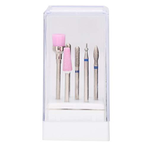 Brocas de pulido de uñas convenientes Brocas de uñas Piezas de lima de pulido eléctrico para uso profesional para uso de diseño de uñas para uñas DIY