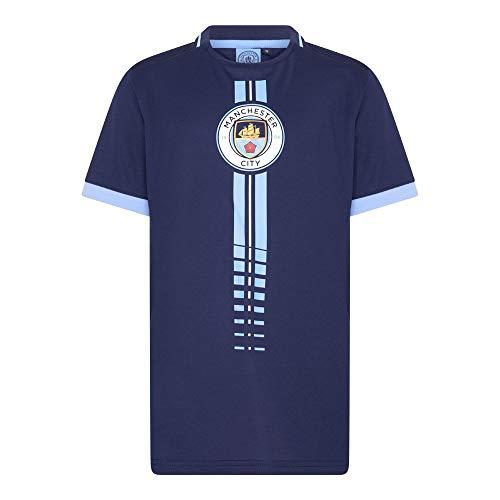 Morefootballs - Offizielles Manchester City Trikot für Kinder - 2020/2021-152 - Man City Kurzarm Shirt - Trikot für Fussbal Training