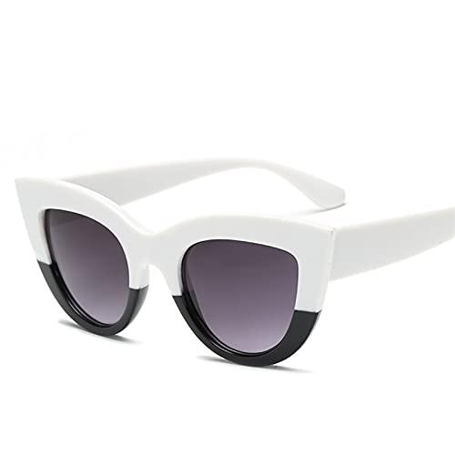 AMFG Gafas de sol de ojo de gato retro gafas de sol salvajes para mujer espejo de conducción (Color : I)