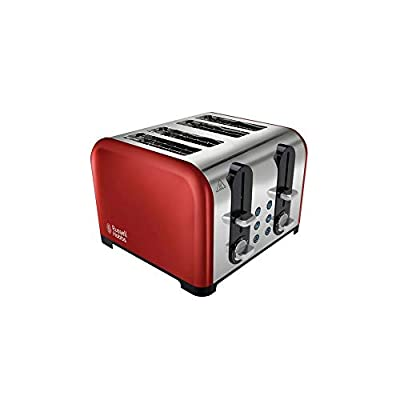 Russell Hobbs 23542 Toaster, Stainless Steel