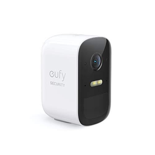Telecamera aggiuntiva per sistema di videosorveglianza domestica wireless eufy Security eufyCam 2C, richiede HomeBase 2, 180 giorni di durata della batteria, HD 1080p, nessun costo mensile