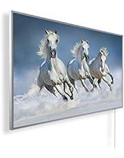 Afbeelding infraroodverwarming (130W/300W/450W/600W/800W/1000W) met 5 jaar garantie (800, ijsppaarden)