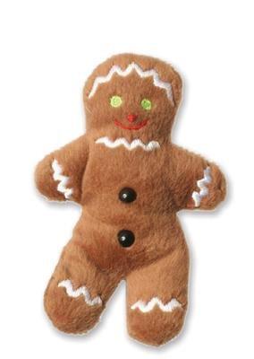 alles-meine.de GmbH Fingerpuppe Lebkuchen Mann Pfefferkuchen Weihnachten Süßigkeit Keks