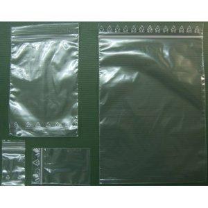 Druckverschlussbeutel, 180 mm x 250 mm, 100 Stück, Beutel mit Druckverschluss, Tüten für Kleinteile, Gleitverschlussbeutel, Verschlussbeutel