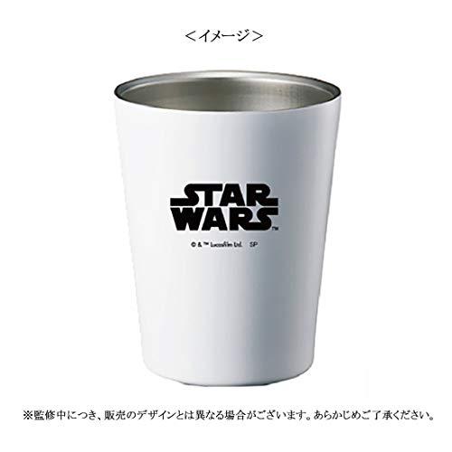 【Amazon.co.jp 限定】STAR WARS スター・ウォーズ ステンレスサーモタンブラー マットホワイト SWLC1388EM