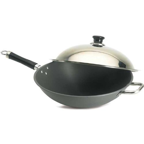 Fire Magic Wok With Stainless Steel Cover 3572 by Fire Magic