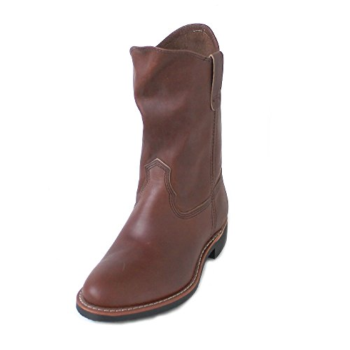 Red Wing Womens Pecos 3468 Amber Leather Boots 8.5 US