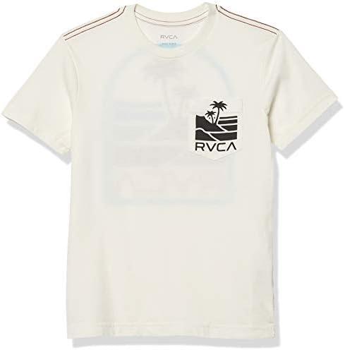 RVCA Boys Strokes Short Sleeve Crew Neck Pocket T Shirt Antique White X Small product image