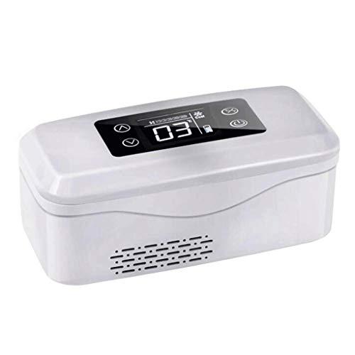 ZJHDX Refrigerador de insulina y refrigerador médico 2-8 ° C para automóviles, viajes, caja de refrigeración portátil recargable doméstica para tratamiento médico
