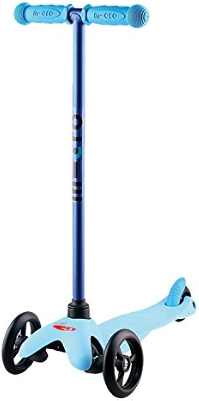 Micro Kinderroller Mini Sporty Kickboard in Candy Blau