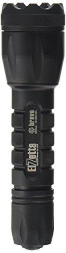 Elzetta B332 Bravo (2 Cell) Flashlight with Crenellated Bezel Ring