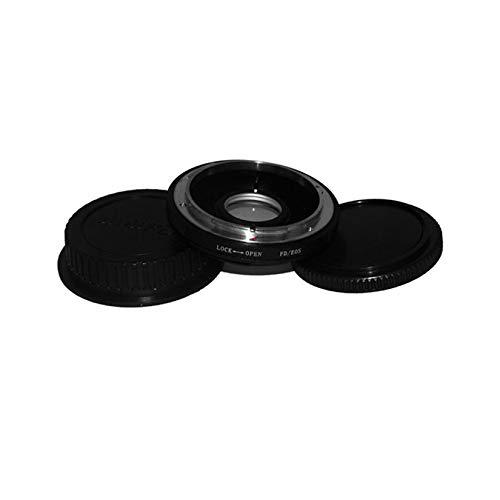 Wenwenzui-ES FD-Objektiv für Canon EOS EF - Adapter für die Gehäusemontage - Adapter Infinity Focus mit Glas Handbuch für Macroshot-Fotografie