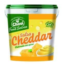 Salsa Queso Cheddar Chovi - 1 Litro.