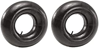 15x6.00-6 Tractor Inner Tube (2 Pack) - PREMIUM Replacement 15 x 600-6 Heavy Duty Tube with Straight Valve for 16 x 6 Pneumatic Tractor Tires, Lawn Mowers, Go Karts, Golf Cart, Garden Utility Vehicles