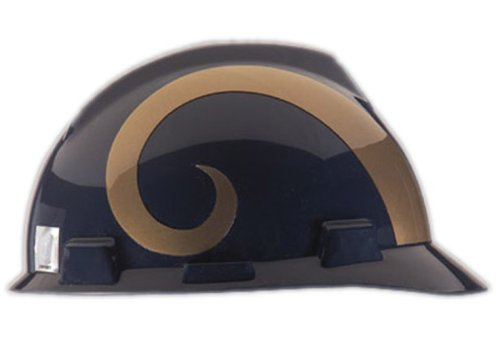 Safety Works NFL Hard Hat, St. Louis Rams