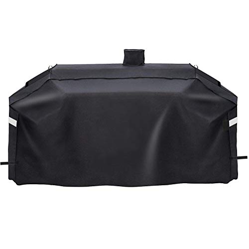 Grisun PS9900 Grill Cover for Smoke Hollow Gas/Charcoal Grill and Pit Boss Memphis Ultimate Grill GC7000 DG1100S 4in1 Combo Grill, Heavy Duty and Waterproof Grill Cover (78 x 23 x 48 Inches)