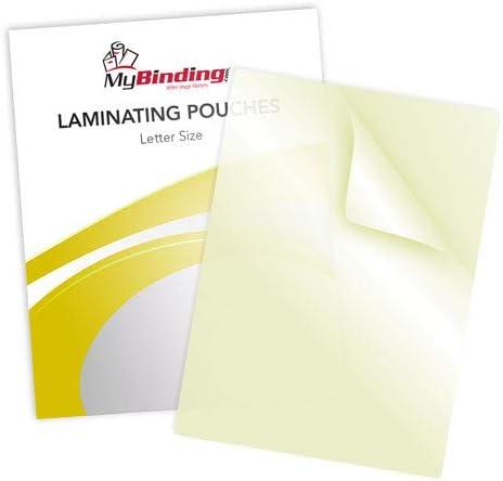 5mil Letter Size Sticky Back Laminating Pouches - 50pk