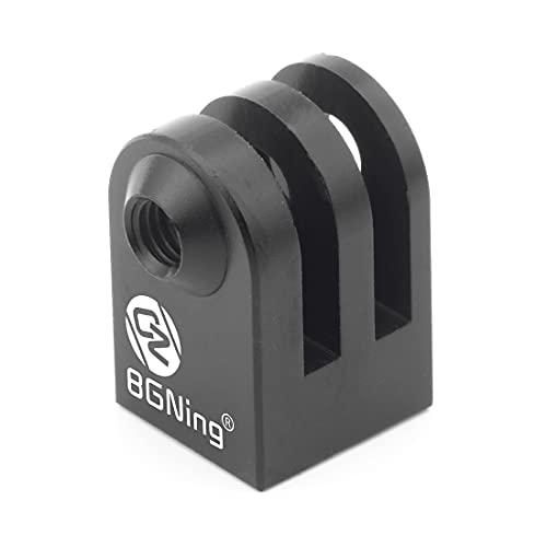 """CNC aleación de aluminio mini trípode montaje deportes al aire libre cámara base adaptador para GoPro SupTig todo 1/4 """"tornillo monopod"""