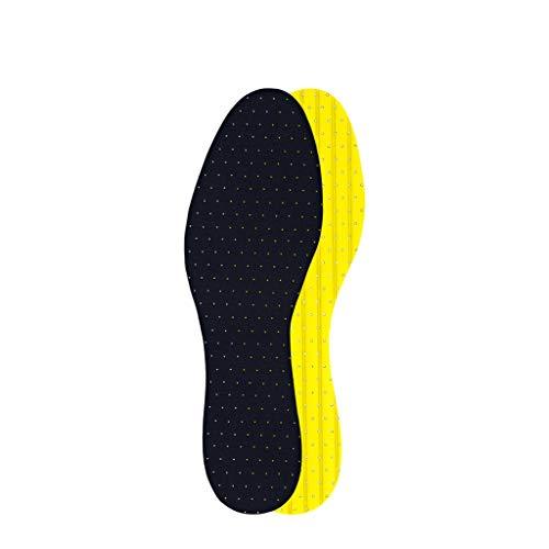 Xxw lamp EVA Material Látex Sección Delgada Desodorante Plantilla Hombres y Mujeres Verano Transpirable Sudor Absorbente Zapatos Deportivos Plantillas (Color : 43yardas)