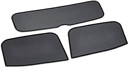 FCA Set of 2 Original Bumper Moulding Badges for Fiat 500 71749624 71749625