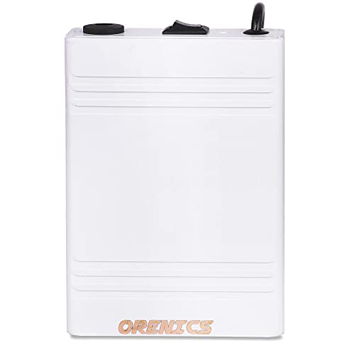Orenics Mini Ups 4 Hour continuously Power Backup for Router 12V up to 3A (White Colour)