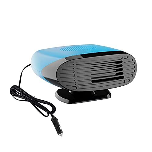 Enjovdery Ventilador Portátil para Calefactor De Coche - Calentador De Automóvil 12V / 24V Ventilador De Automóvil Desempañador De...