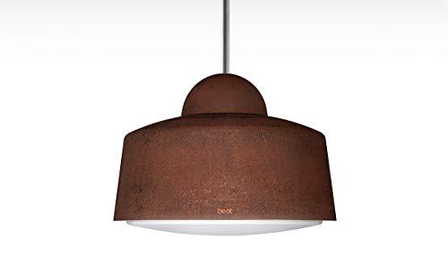 BEST Hostaria Inselhaube/Aluminium Lackiert/Rost/Ø 50 cm (BHS56300SA)