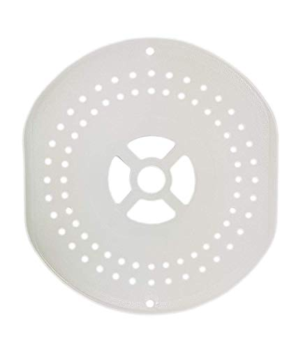 SLG Plastic Spin Cap/Drier Plate/Dryer Cover/Lid for Videocon Washing Machine (5.5-inch, White)
