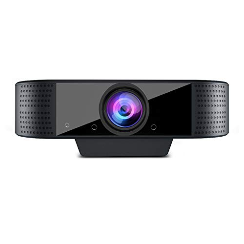 1080P Webcam with Microphone,OVIFM Full HD Web Cam for PC/MAC/Laptop/Desktop, Plug and Play USB Web Camera,Streaming Webcam for YouTube,Skype,Zoom,Xbox One Video Calling,Studying and Conference