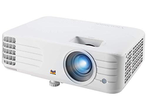 ViewSonic PX701HD Proyector Full HD Home Cinema y Comercial (3500 lúmenes, 1080p, DLP, HDMI Dual, 3X Entrada rápida, tecnología SuperColour, Altavoces de 10W), Blanco
