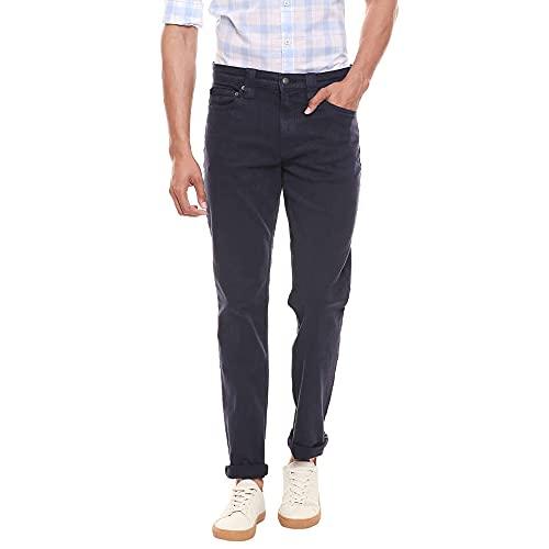 Calvin Klein Ckj 5pkt Slim Pant Pantalones, Cielo Nocturno, 32W / 34L para Hombre