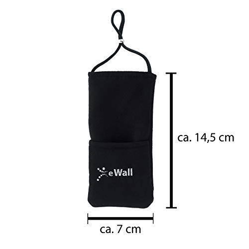 eWall Strahlenschutz Handytasche Classic, schwarz
