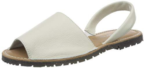 Tamaris 1-1-28916-24, Sandali con Cinturino alla Caviglia Donna, Bianco (White 100), 38 EU